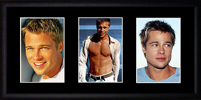 Brad Pitt Framed Photographs PB0621