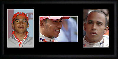 Lewis Hamilton Framed Photographs PB0413