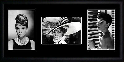 Audrey Hepburn Framed Photographs PB0003