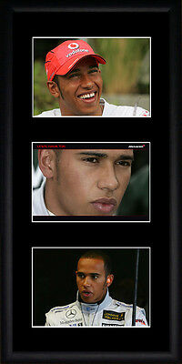 Lewis Hamilton  Framed Photographs PB0388