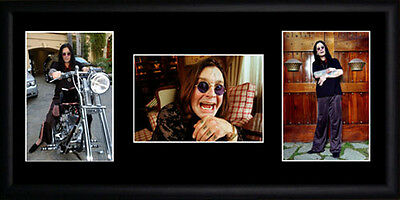 Ozzy Osbourne Framed Photographs PB0281