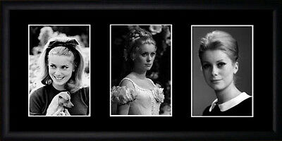 Catherine Deneuve Framed Photographs PB0636