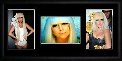 Lady Gaga Framed Photographs PB0490