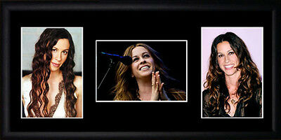 Alanis Morissette Framed Photographs PB0535