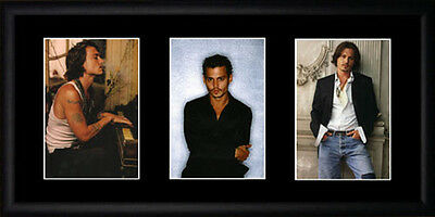 Johnny Depp Framed Photographs PB0165