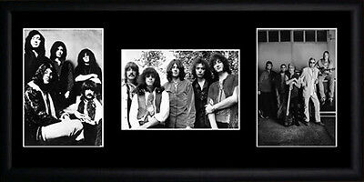 Deep Purple Framed Photographs PB0373