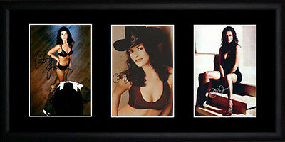Catherine Zeta Jones Framed Photographs PB0205