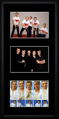 Westlife Framed Photographs PB0169