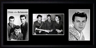Dion and the Belmonts Framed Photographs PB0677