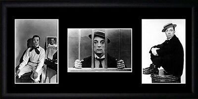Buster Keaton Framed Photographs PB0628