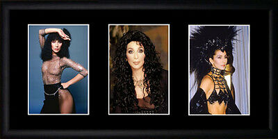Cher Framed Photographs PB0643