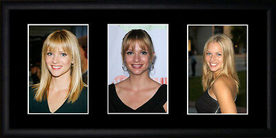 AJ Cook Framed Photographs PB0532
