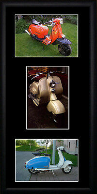 Lambretta Scooters Framed Photographs PB0192