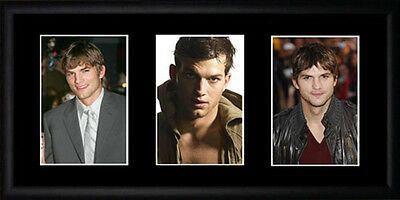 Ashton Kutcher Framed Photographs PB0599