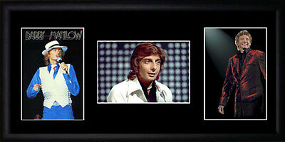 Barry Manilow Framed Photographs PB0377