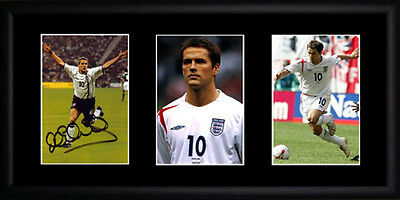 Michael Owen Framed Photographs PB0256