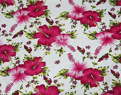 """Floral Printed Pure Cotton Fabric 41"""" Wide Fabrics Crafting Material By 1 Yard"""