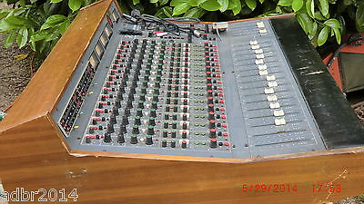 Collector Console Analogique Vintage Hudson  Csl 1604 Do   1974 Made In France