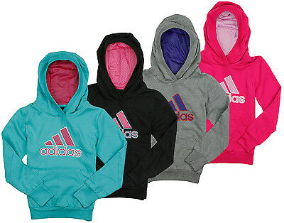 Adidas Youth Girls Yoga Dance Performance Pullover Sweatshirt Hoodie, 4 Colors