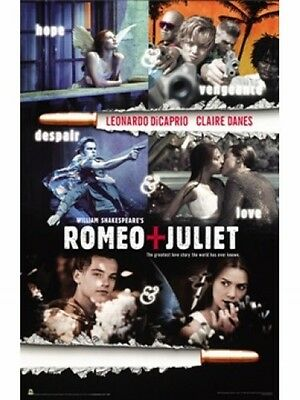 """Romeo And Juliet Poster  """"licensed"""" Brand New"""