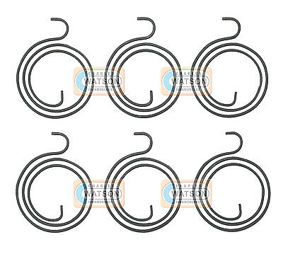 6 x Replacement Spring for Door Handle Lever Latch Internal Coil Repair
