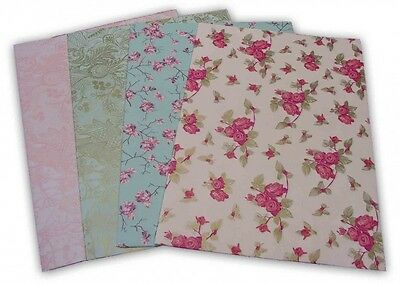 8-tlg. Set PaperPatch Decopatch Papier, Decoupage ELEGANT jeweils 30 x 42 cm