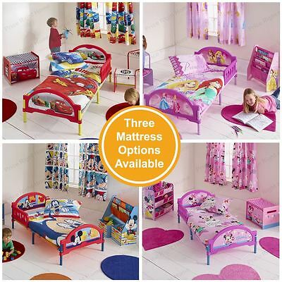CosyTime Toddler Bed - Mattress Options Available – Frozen, Minnie, Cars, Mickey