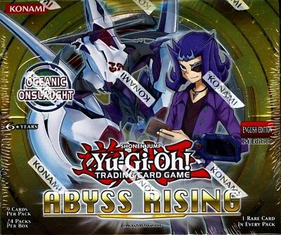 Yugioh Abyss Rising 1St Edition Booster Box Blowout Cards