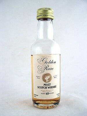 Miniature circa 1970 Golden Rare 10YO Malt Whisky Isle of Wine