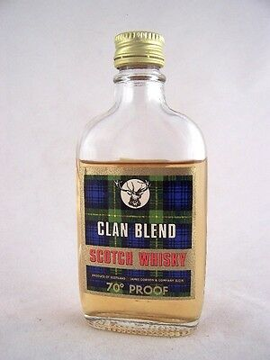Miniature circa 1969 Clan Blend Whisky Isle of Wine