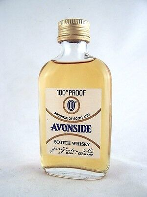 Miniature circa 1969 Avonside Scotch Whisky B Isle of Wine