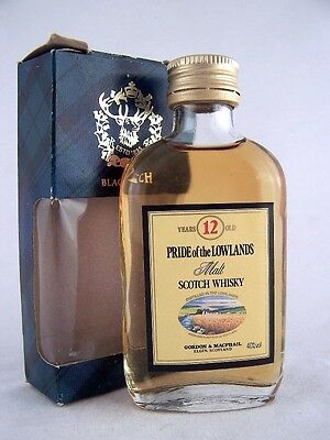 Miniature circa 1969 Pride of the Lowlands Whisky Isle of Wine