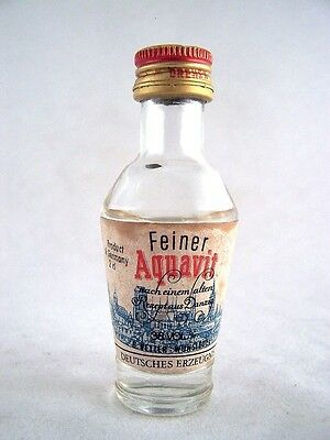 Miniature circa 1973 Feiner Aquavit Isle of Wine
