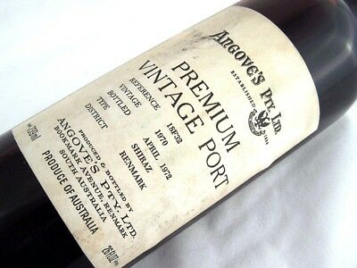 1970 ANGOVES Premium Vintage Port A Isle of Wine