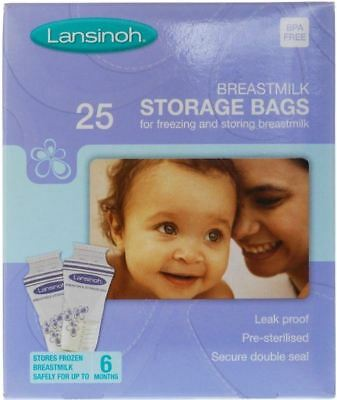 Lansinoh Breast Milk Storage - 25 Bags