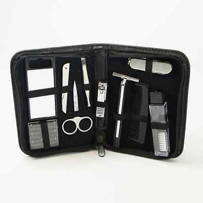 Mens Grooming Manicure Pedicure Travel Wash Kit