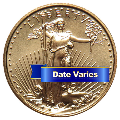 $5 American Gold Eagle 1/10 oz Random Year Brilliant Uncirculated