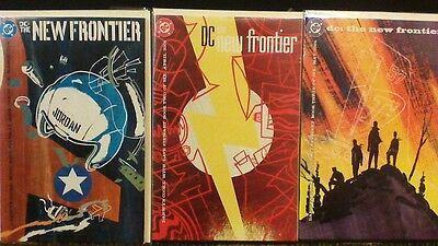 DC The New Frontier #'s 1,2,3