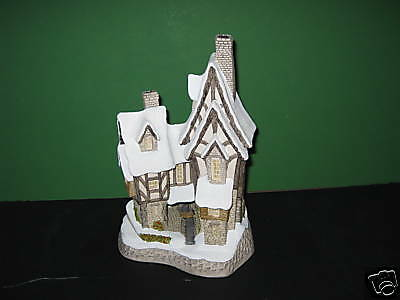 David Winter Cottages Fred's Home MIB COA 1991