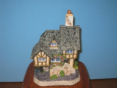 David Winter Cottages Swan Upping Cottage MIB COA