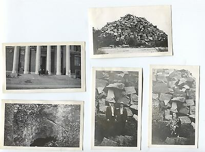 9 1939 St. Cloud Minnesota Snapshot Photos Streets Quarry etc