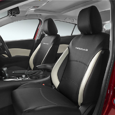 New Genuine Mazda 3 BM BN Front Seat Cover Pair Neoprene BM11ACSCF 2014 -current