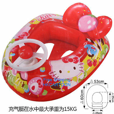 2015 Summer Hello Ktitty Swimming Pool Kids Inflatable Float Toy Kt-11327