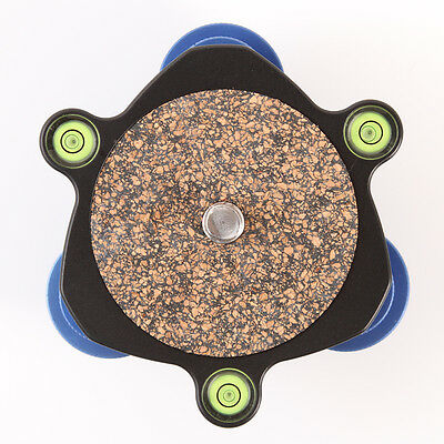 """Leveling Base Regulator Tripod Head with 3/8"""" Mounting Screw &3 adjustment dials"""
