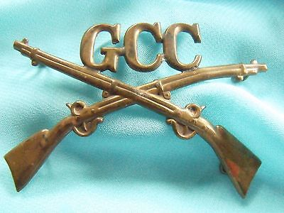 Gcc Infantry Indian Wars Span Am Us Army Insignia Unknown Unit Or Purpose