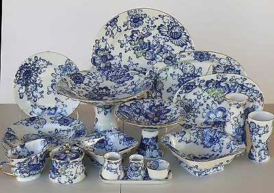 Dinner set for 6/36 pcs SINGING GARDEN, Lomonosov Imperial Porcelain, Russia