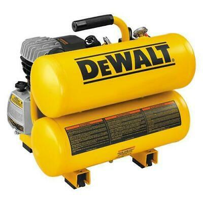 DeWALT D55153 4 Gallon 2 HP 100 PSI Side Stack Air Tool Compressor