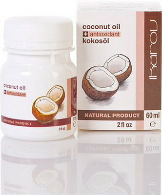 COCONUT ESSENTIAL OIL, 100% Pure & Natural, Antioxidant 2oz /60ML, from IKAROV