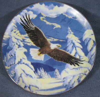 Impressions Of Freedom Collector Plate Visions From Eagle Ridge Diana Casey
