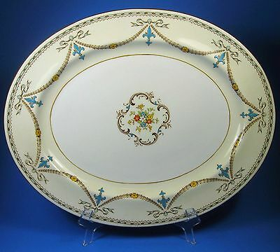 "Paragon BEAUPRE 14"" Oval Serving Platter Bone China England"